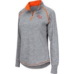 Colosseum Athletics Women's Sam Houston State University Bikram 1/4 Zip Long Sleeve T-shirt - view number 1