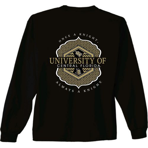 New World Graphics Women's University of Central Florida Faux Pocket Long Sleeve T-shirt