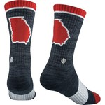 Skyline Georgia Campus Crew Socks - view number 1