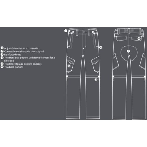 Magellan Outdoors Men's Eagle Pass Deluxe Pants - view number 4
