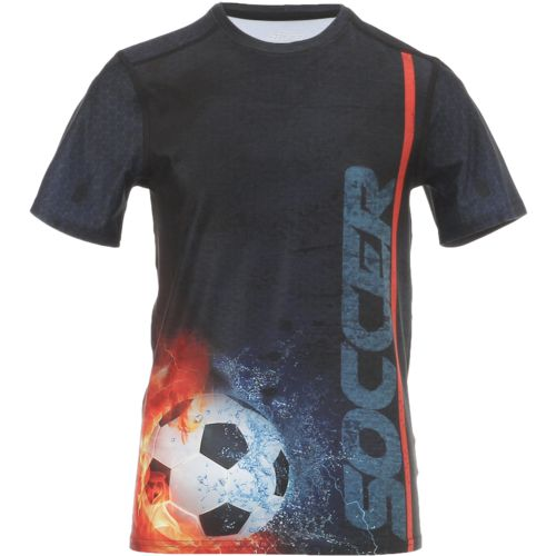 BCG Boys' Soccer Sublimation Training T-shirt