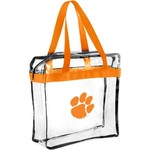 Forever Collectibles Clemson University Clear Messenger Bag - view number 1