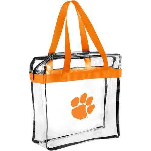 Forever Collectibles Clemson University Clear Messenger Bag