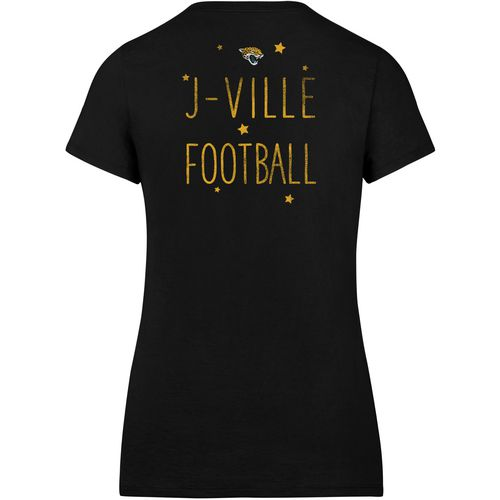 '47 Jacksonville Jaguars Women's MVP Splitter Scoop Neck T-shirt