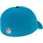 New Era Men's Carolina Panthers Onfield Sideline Team 2-Tone 39THIRTY Cap - view number 3
