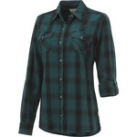 Magellan Outdoors Women's Fish Gear Cordova Pass Flannel Fishing Shirt - view number 3
