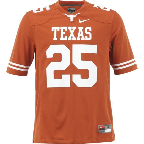 Nike Men's University of Texas Jamaal Charles 25 Former Player Football Jersey