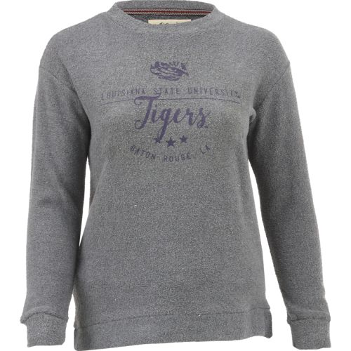 Three Squared Juniors' Louisiana State University Finley Comfy Terry Pullover