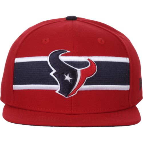 New Era Men's Houston Texans 9FIFTY Victory Stripe Alternative Cap