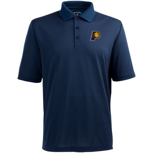 Antigua Men's Indiana Pacers Pique Xtra-Lite Polo Shirt