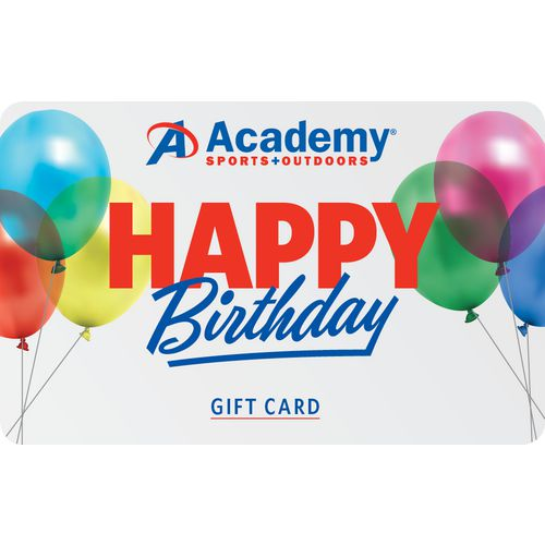 Happy Birthday Academy Gift Card
