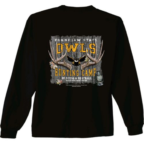 New World Graphics Men's Kennesaw State University Hunt Long Sleeve T-shirt
