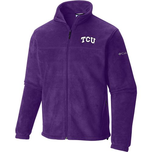 Columbia Sportswear Men's Texas Christian University Flanker Full Zip Fleece