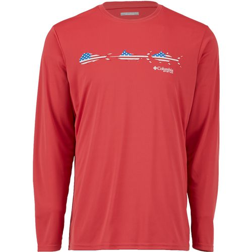 Columbia Sportswear Men's Terminal Tackle Freedom Fish Long Sleeve T-shirt - view number 1