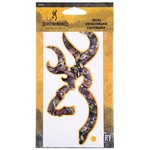 Browning 6 in Camo Buckmark Decal - view number 1