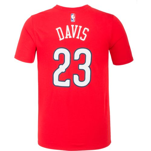 Nike Men's New Orleans Pelicans Anthony Davis 23 Name and Number T-shirt