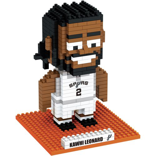 Forever Collectibles San Antonio Spurs Kawhi Leonard BRXLZ 3-D Player Puzzle