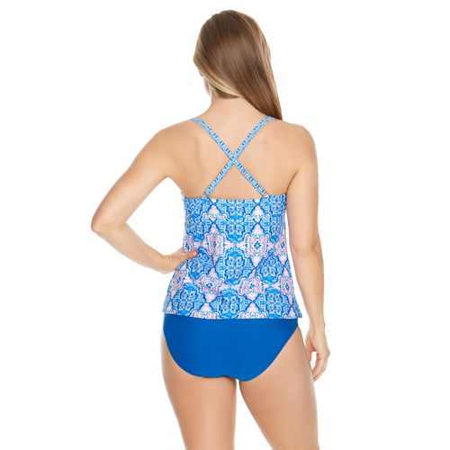Sweet Escape Women's Medallion Tankini Swim Top - view number 1
