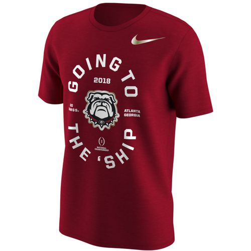 Nike Men's University of Georgia National Championship Game Bound Short Sleeve T-shirt