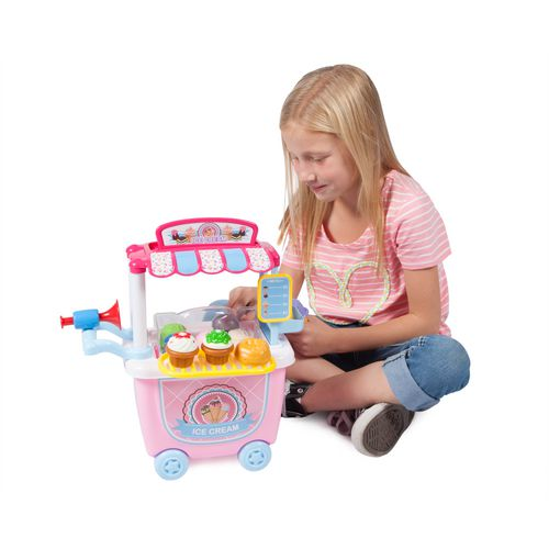 World Tech Toys 14-Piece Ice Cream Cart Playset - view number 5