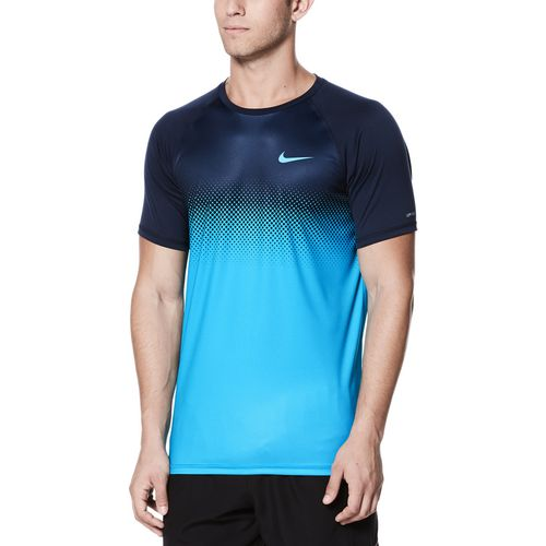 Nike Men's Short Sleeve Hydroguard Swim Shirt