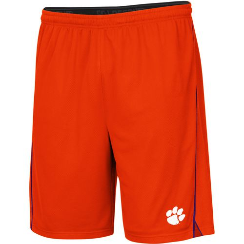 Colosseum Athletics Men's Clemson University Embroidered Mesh Shorts