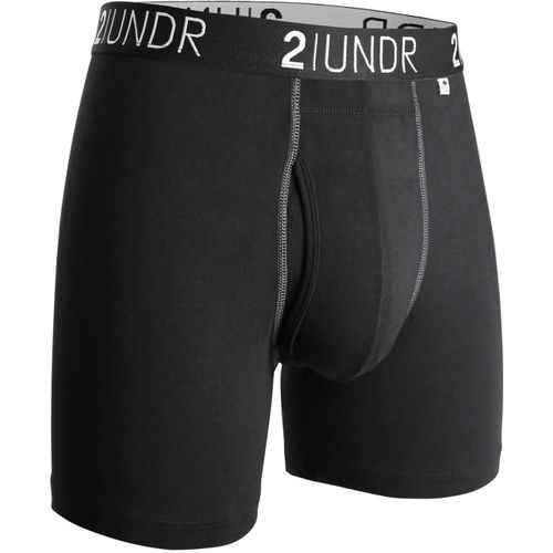 2UNDR Men's Swing Shift 6 in Solid Boxer Briefs