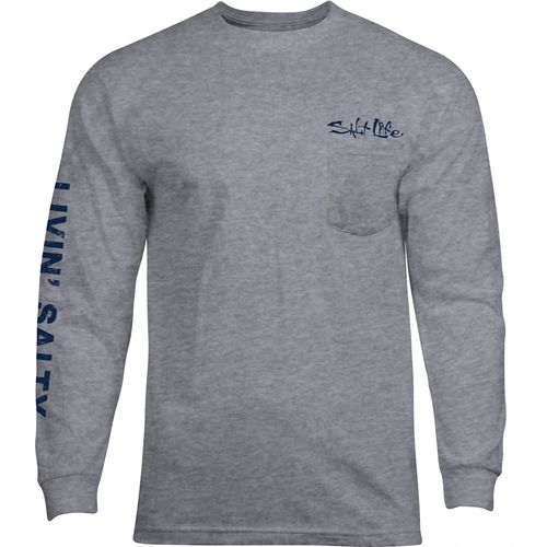 Salt Life Men's Big Shot Long Sleeve T-shirt
