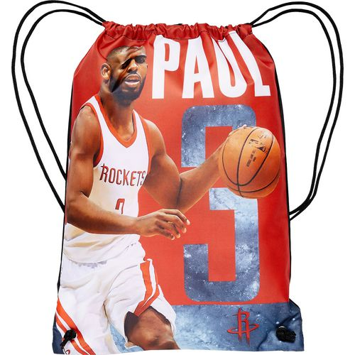 Forever Collectibles Houston Rockets Chris Paul 3 Drawstring Backpack