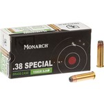 Monarch® SP SJHP .38 Special 158-Grain Pistol Ammunition