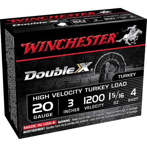 Winchester Supreme 20 Gauge Turkey Load Shotshells