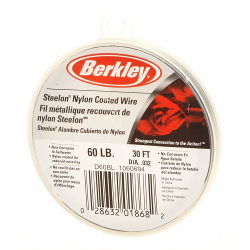 Display product reviews for Berkley® Steelon® 30' Nylon-Coated Wire
