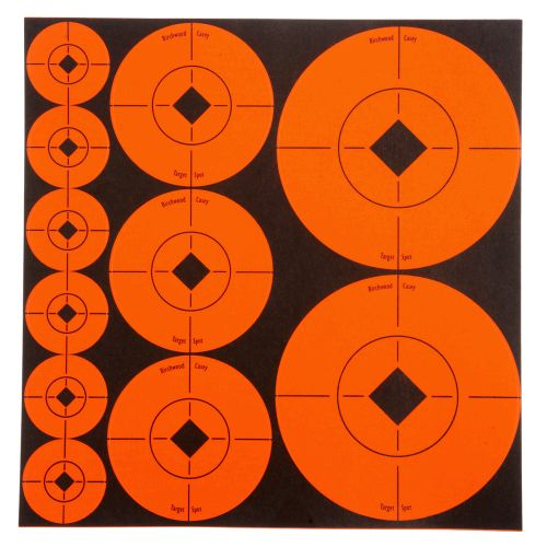 Display product reviews for Birchwood Casey® Self-Adhesive Target Spots® Assortment