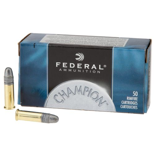 Display product reviews for Federal® Champion™ Solid .22 LR 40-Grain Rimfire Ammunition