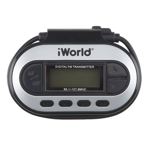 Image for iWorld™ Digital FM Transmitter from Academy