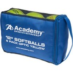 "Academy Sports and Outdoors 12"" Softballs 6-Pack"