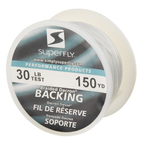 Superfly Premium Performance 150-Yard Fly Line Backing