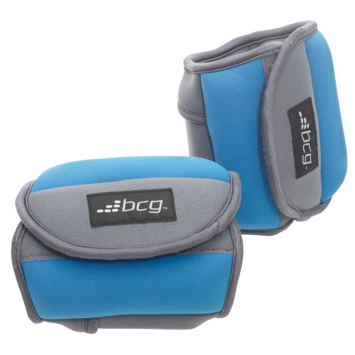 BCG  5 lb. Pair Fitness Weights with Straps