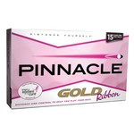 Pinnacle Gold Ribbon Golf Balls 15-Pack