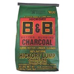 B&B Hickory 20 lb. Lump Charcoal