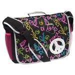 Accessories 22 Girls' Conversational Peace Full Size Messenger Bag