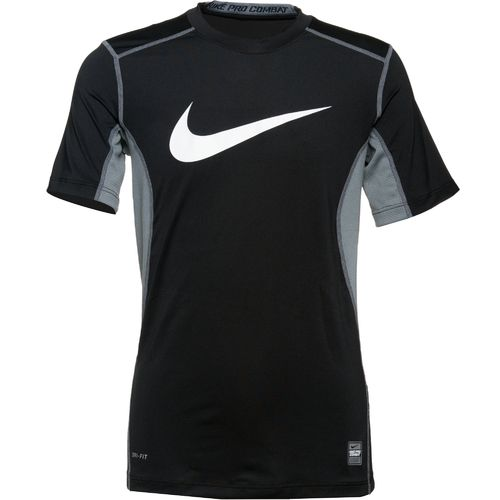 Nike Boys' Pro Combat Core Fitted Swoosh T-shirt