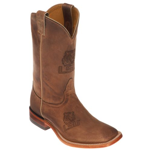 Men's LSU Tigers Western Boot