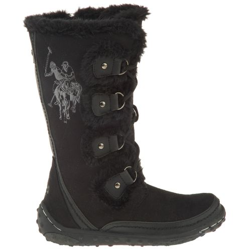 U.S. Polo Girls' Microfiber Boots