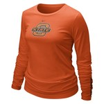 Nike Women's Oklahoma State University Long Sleeve Logo T-shirt