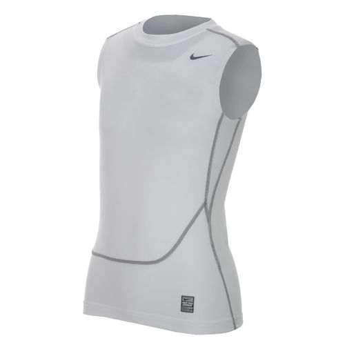 Nike Boys' Pro Combat Core Compression Sleeveless T-shirt