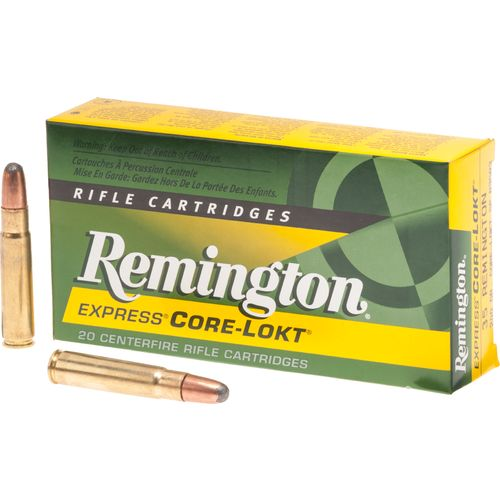 Display product reviews for Remington Core-Lokt .35 Remington 200-Grain Centerfire Rifle Ammunition