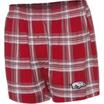 Concepts Sport Men's University of Arkansas Millennium Plaid Boxer