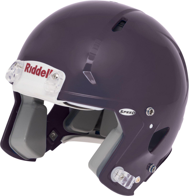 Back Bumper Football Helmets Types : Riddell helmet academy