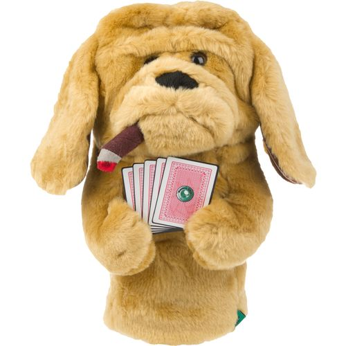 Winning Edge Poker Playing Dog Head Cover